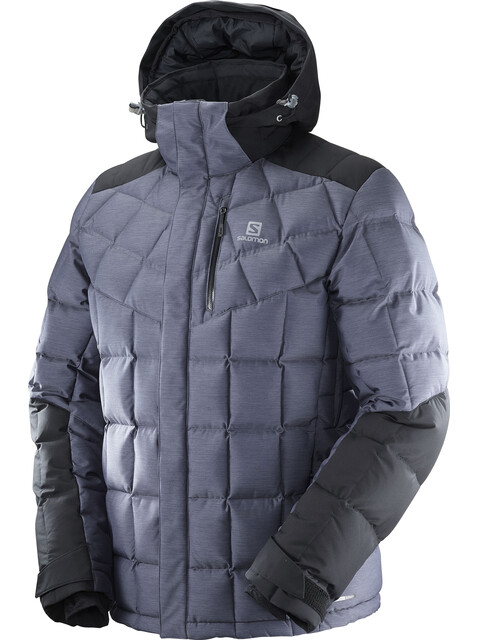 Salomon Icetown Jacket Men Dark Grey Heather